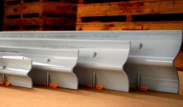 TripStop S Profile Sidewalk Joints
